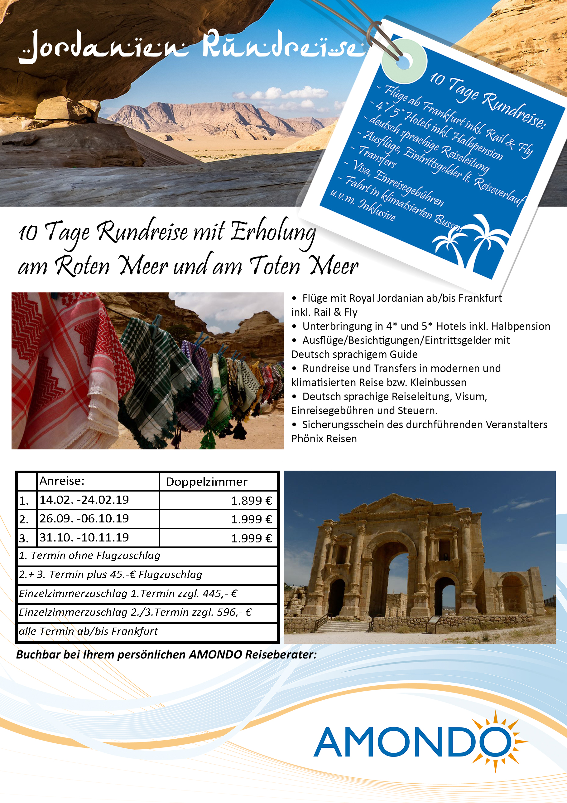 AMONDO Jordanienreise