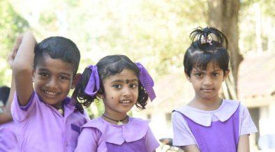 Die Kinder freuen sich schon jetzt auf ihre neue Schule