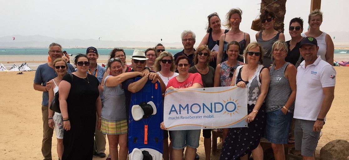 AMONDO Ägypten - die Reisegruppe