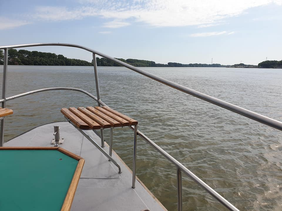 Reisebericht Rumanien Herbert Broeckel Bootsfahrt auf dem Delta
