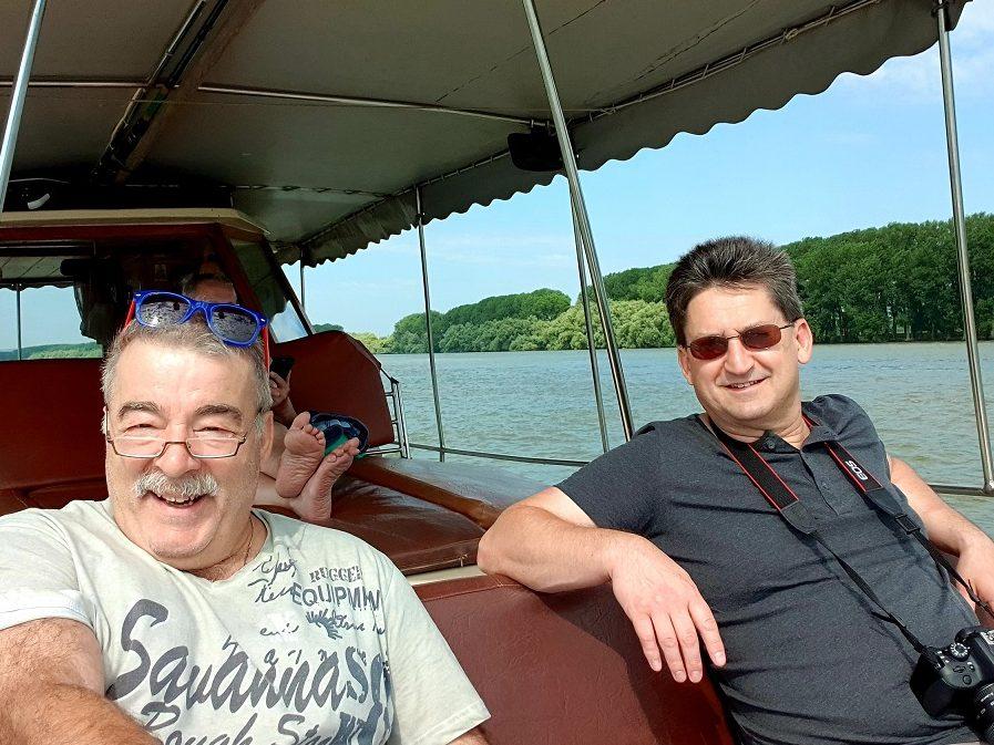 Reisebericht Rumanien Herbert Bröckel Bootsfahrt auf dem Delta
