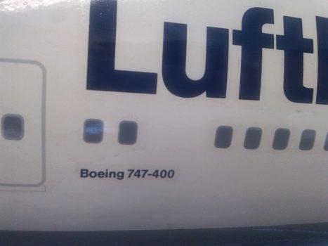 Lufthansa Modell Boing 747-400