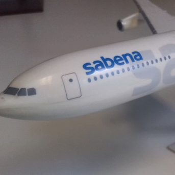 Sabena Modellflugzeug