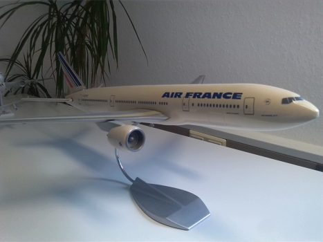 Modell einer Air France