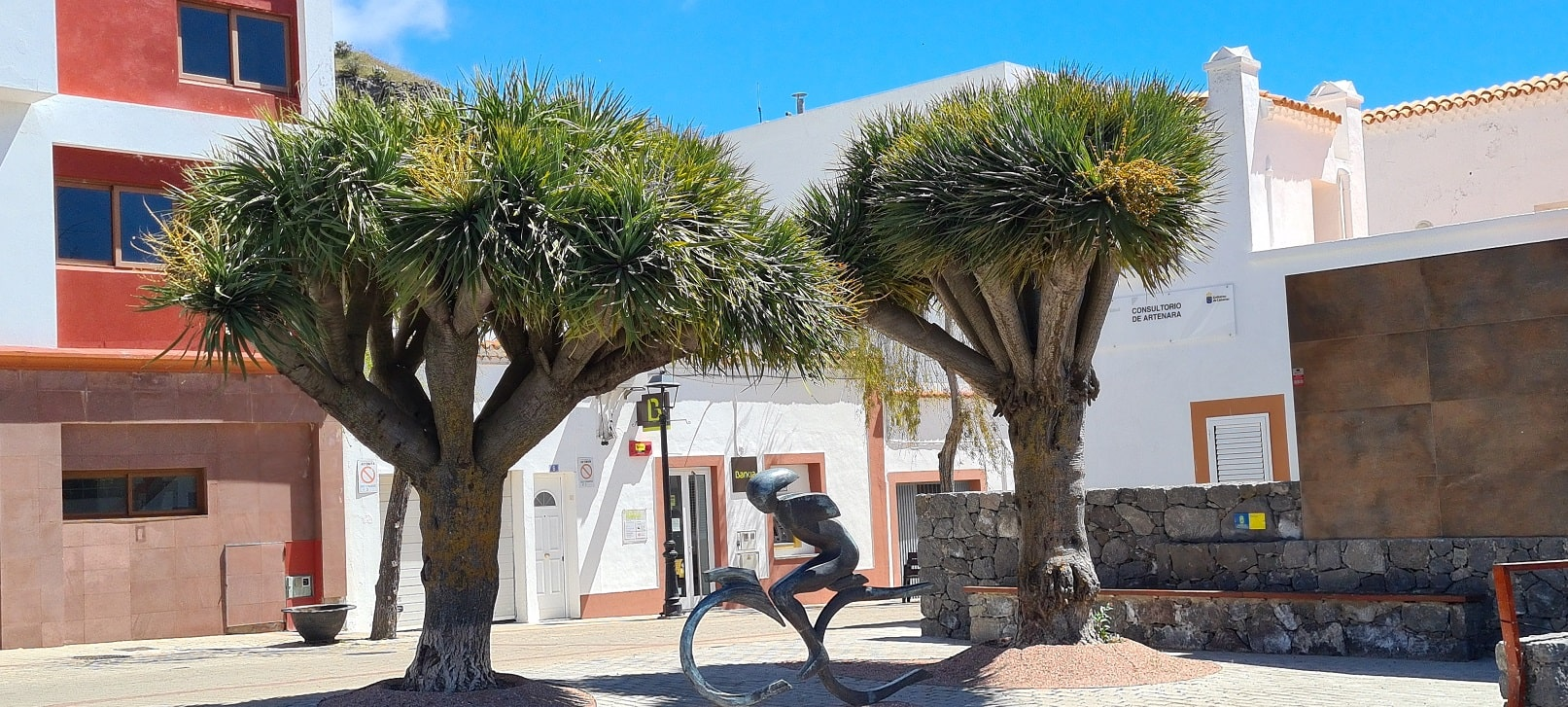 Gran Canaria - Radfahrerskulptur