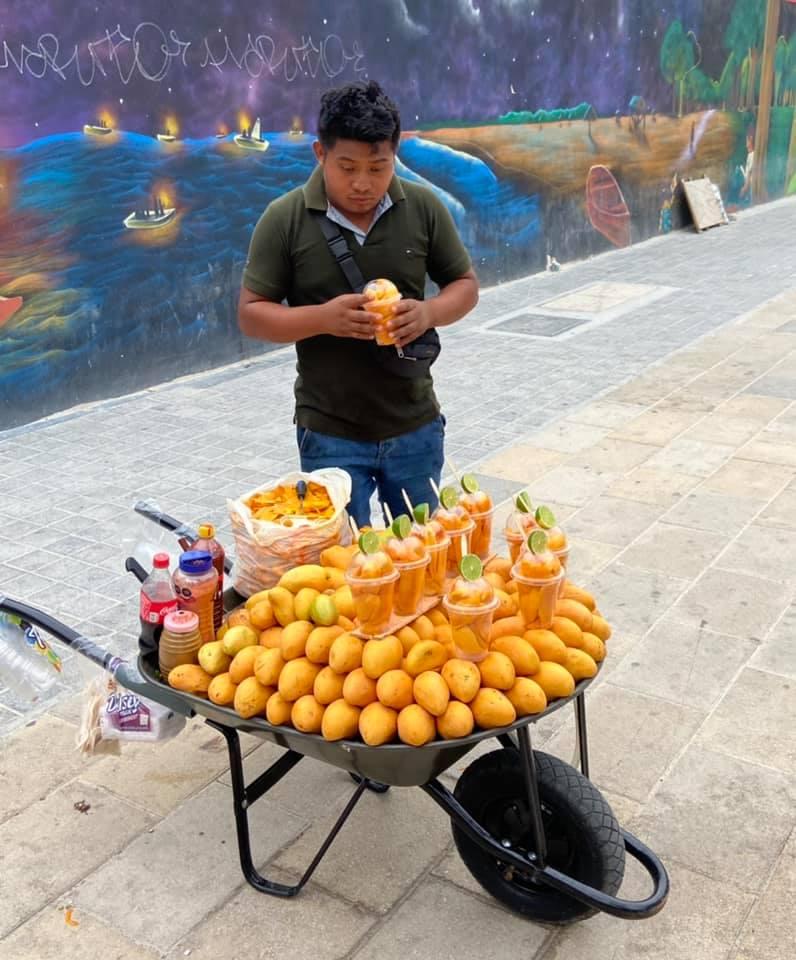 Mexiko - Straßenverkäufer