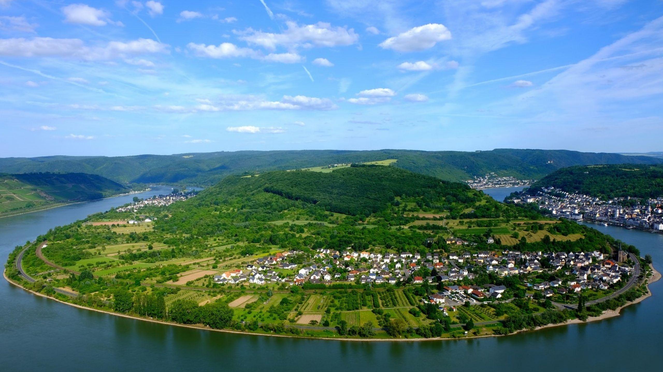 Rheinschleife bei Boppart